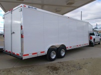 Gooseneck Enclosed Cargo Trailers - GNDF 60A