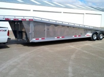 Gooseneck Wedge Deck Open Automotive Aluminum Trailers - GNOC 17A