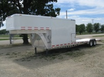 Gooseneck Enclosed Cargo Trailers - GNDF 19