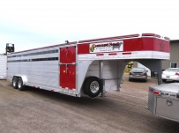 Commercial Gooseneck Livestock Trailers - GNL 71A