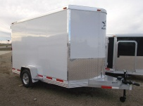 Bumper Pull Enclosed Cargo Trailers - BPDF 81A