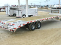 Gooseneck Heavy Equipment Flatbed Trailers - GNF 27B - 25'