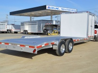 Gooseneck Low Profile Heavy Equipment Flatbed Trailers - GNLPF 44B