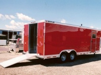 Gooseneck Enclosed Cargo Trailers - GNDF 17