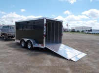 Bumper Pull Automotive All Aluminum Enclosed Trailers - BPA 62