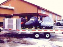 Open Motorcycle/Snowmobile Toy Haulers - SNOW 4A