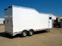 Gooseneck Automotive All Aluminum Enclosed Trailers - GNA 16B