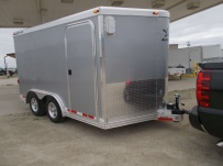 Bumper Pull Automotive All Aluminum Enclosed Trailers - BPA 70