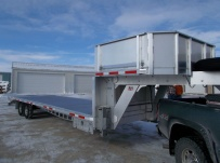 Gooseneck Heavy Equipment Flatbed Trailers - GNF 106