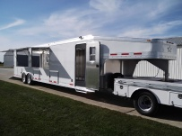 Gooseneck Enclosed Cargo Trailers - GNDF 39C