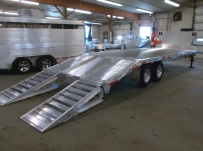 Gooseneck Heavy Equipment Flatbed Trailers - GNF 102C