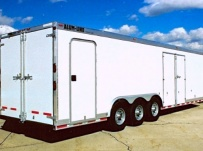 Gooseneck Automotive All Aluminum Enclosed Trailers - GNA 10B