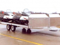 Open Motorcycle/Snowmobile Toy Haulers - SNOW 8B