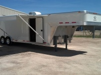 Gooseneck Enclosed Cargo Trailers - GNDF 51
