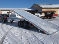 Gooseneck Heavy Equipment Flatbed Trailers - GNF 96B