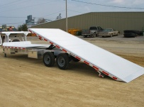Gooseneck Heavy Equipment Flatbed Trailers - GNF 26C - 30'