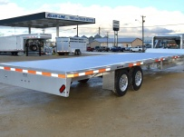 Gooseneck Heavy Equipment Flatbed Trailers - GNF 103A