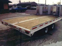 Open Motorcycle/Snowmobile Toy Haulers - SNOW 1A
