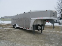 Gooseneck Enclosed Cargo Trailers - GNDF 31C