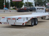 Gooseneck Heavy Equipment Flatbed Trailers - GNF 101A
