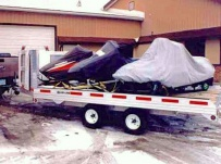 Open Motorcycle/Snowmobile Toy Haulers - SNOW 4B