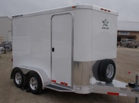 Bumper Pull Enclosed Cargo Trailers - BPDF 76