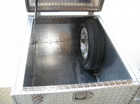 Enclosed Motorcycle Trailer Pull Behind Tote - CYCLE 1B