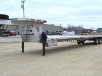Gooseneck Heavy Equipment Flatbed Trailers - GNF 103B