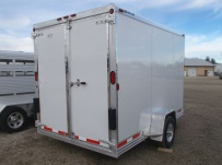 Bumper Pull Enclosed Cargo Trailers - BPDF 81B