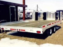 Open Motorcycle/Snowmobile Toy Haulers - SNOW 2A