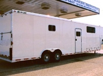 Gooseneck Automotive All Aluminum Enclosed Trailers - GNA 7