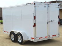 Bumper Pull Enclosed Cargo Trailers - BPDF 84B
