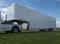 Gooseneck Automotive All Aluminum Enclosed Trailers - GNA 35B