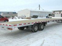 Gooseneck Heavy Equipment Flatbed Trailers - GNF 32A