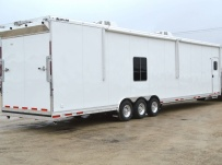 Gooseneck Automotive All Aluminum Enclosed Trailers - GNA 37B