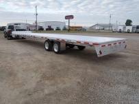 Gooseneck Heavy Equipment Flatbed Trailers - GNF 82