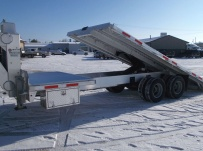 Gooseneck Open Automotive Aluminum Trailers - GNOC 28A