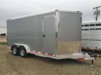 Bumper Pull Automotive All Aluminum Enclosed Trailers - BPA 75B