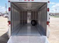 Bumper Pull Automotive All Aluminum Enclosed Trailers - BPA 64