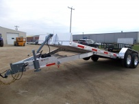 Bumper Pull Open Automotive Aluminum Trailers - BPOC 27C