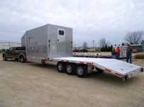 Gooseneck Heavy Equipment Flatbed Trailers - GNF 105B