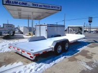 Gooseneck Open Automotive Aluminum Trailers - GNOC 21
