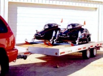 Open Motorcycle/Snowmobile Toy Haulers - SNOW 6A