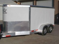 Bumper Pull Enclosed Cargo Trailers - BPDF 79B