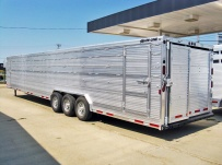 Commercial Gooseneck Livestock Trailers - GNL 74A