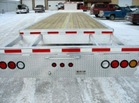 Gooseneck Heavy Equipment Flatbed Trailers - GNF 32B