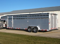 Commercial Gooseneck Livestock Trailers - GNL 103A