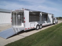Gooseneck Enclosed Cargo Trailers - GNDF 39B