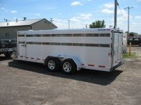 Showmaster Low Profile Small Livestock Trailers - BPLP4V 25A