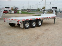 Gooseneck Heavy Equipment Flatbed Trailers - GNF 31